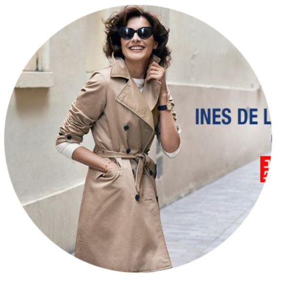 d1308c3d3 Uniqlo X Ines De La Fressange XS Trench Coat